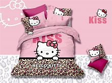 фото кпб hello kitty bb03-18 евро из ткани Сатин Hello Kitty