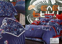фото кпб killer star fashion home textile csv003-3 евро из ткани Сатин